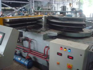 Round Corner bellow forming machine